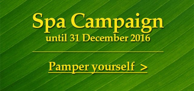 Spa Campaign until 31 Dec