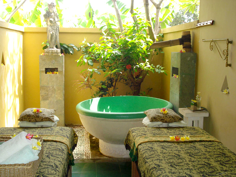 Latest Pictures Of Our Open Air Massage Rooms Nusa Dua