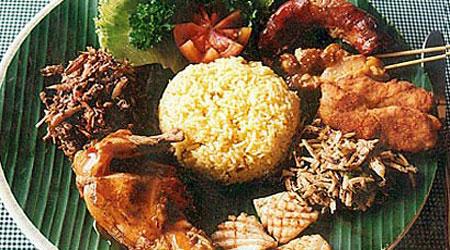 """Bali food at Bawang Merah """"Red Shallot"""" Restaurant"""
