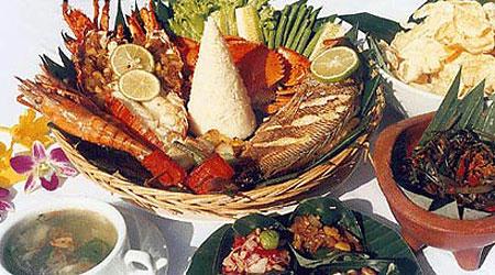 Balinese Seafood Basket