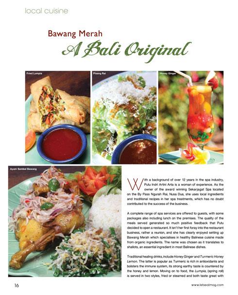 Bawang Merah Bali Restaurant