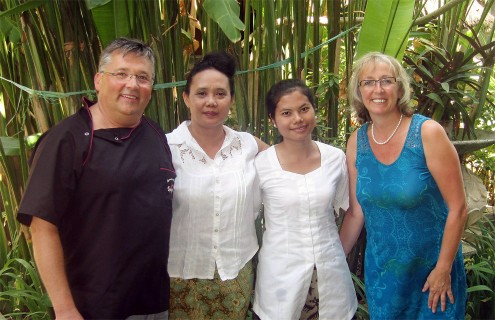 Balinese spa course with Sparshana