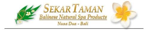 Bali Spa Products made by Sekar Jagat Spa