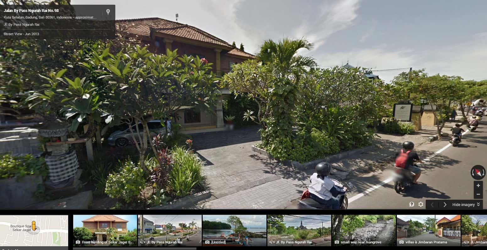 Nusa Dua Street View