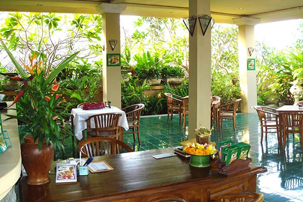 lobby of Sekar Jagat Spa Nusa Dua