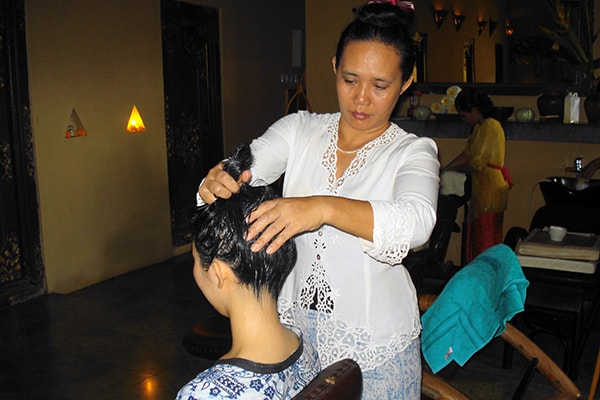 nusa dua hair spa