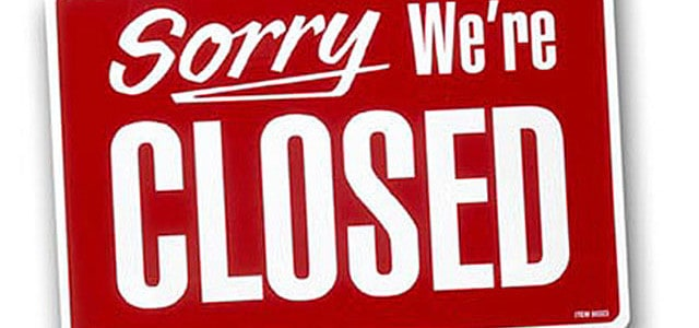 Closed on 24 June and 01 July 2015