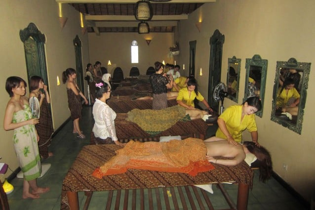 spa course with ryubi