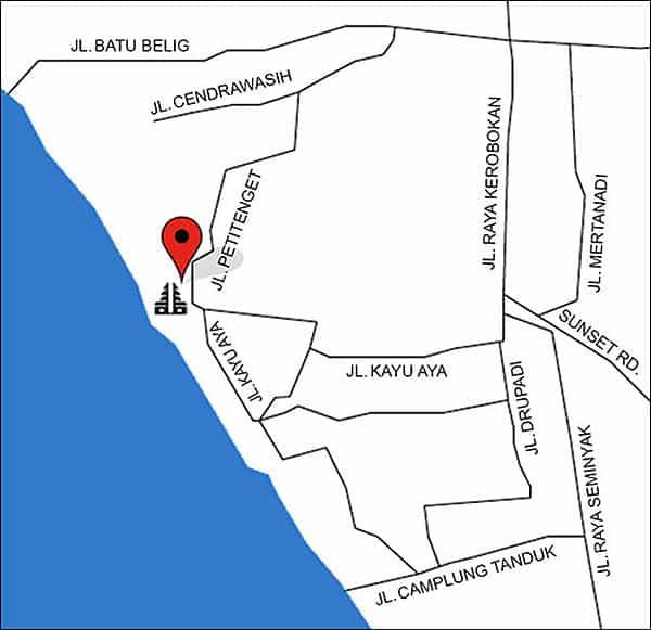 Map Jaansan Bali